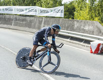 Cyklisten Richie Porte - Tour de France 2014 Fotografering för Bildbyråer