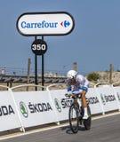 Cyklisten Tom Veelers Arkivfoto