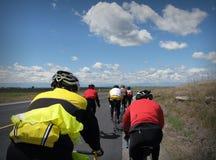 cyklister Arkivfoton