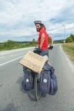 Cyklister Royaltyfri Bild