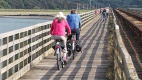 cyklister Royaltyfria Foton