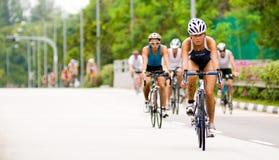cyklister Royaltyfri Foto