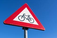 Cyklister och mopedister Fotografering för Bildbyråer