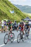 cyklister tre Fotografering för Bildbyråer