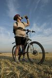 cyklistrest s royaltyfri fotografi