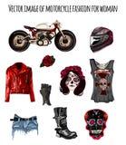 Cyklists mode i stildagen av dödaen Arkivfoto