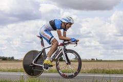 Cyklisty cugiel Taaramae zdjęcie stock