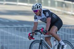 Cyklisty konkurowanie Obraz Royalty Free
