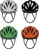 Cyklisty hełma przód 3D Zdjęcie Royalty Free