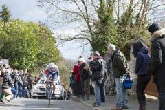 Cyklisty Vegard stos Laengen - ładny 2016 Fotografia Stock