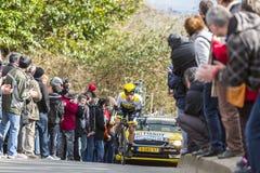 Cyklisty zwycięzca Campenaerts - ładny 2016 Obrazy Royalty Free