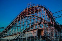 Cyklon, Coney Island, Brooklyn Arkivbilder
