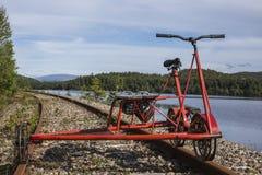Cyklu draisine Fotografia Royalty Free
