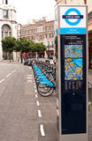 cyklu dzierżawienie London Zdjęcie Stock