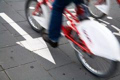 cyklu pas ruchu Obraz Stock