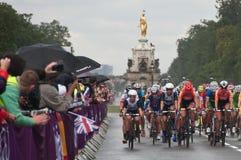 Cyklu rajd samochodowy zdjęcia royalty free