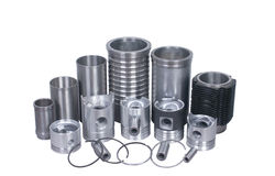 Cylinder. Systems of Automobile spare parts Stock Photography