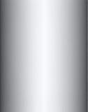 Cylinder. The aluminium cylinder, frontal closeup Stock Photography