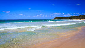 Cylinder Beach in Summer Royalty Free Stock Photo