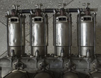 Cylinder block Stock Photos