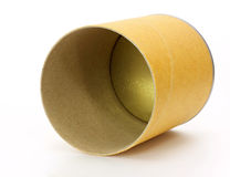 Cylinder Container. On white background royalty free stock photography
