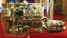 6 cylinder diesel engine Royalty Free Stock Photo