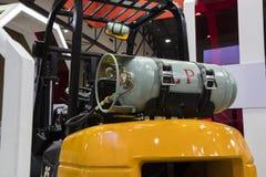 Cylinder för gasbränsle royaltyfria bilder