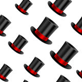 Cylinder hat background Royalty Free Stock Image