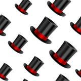 Cylinder hat background Royalty Free Stock Image