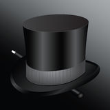 Cylinder hat magician Royalty Free Stock Images