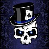 Cylinder hat skull sharpie Stock Photos