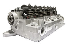 Cylinder head combustion engine Stock Image