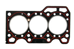 Cylinder head gasket Stock Photos