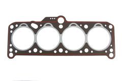 Cylinder head gasket. Isolated on white background Stock Images