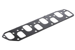 Cylinder head gasket car engine isolated Stock Image
