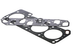 Cylinder head gasket car engine isolated Royalty Free Stock Photography