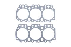Cylinder head gasket on a. White background Stock Photography
