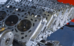 Cylinder Heads Royalty Free Stock Images