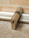 Cylinder lock Stock Photos