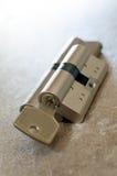 Cylinder lock Royalty Free Stock Photos