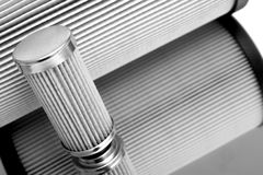 Cylinder sharped filter Royalty Free Stock Images