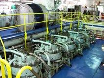 5 cylinder Sulzer RND arkivbilder