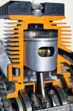 Cylinder - tvärsnitt Arkivfoton
