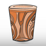 Cylindical sztuka Obrazy Royalty Free