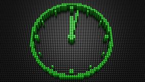Cylindrar bildade en klocka