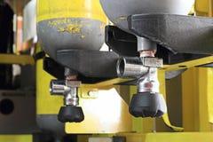Cylindre d'oxygène Photos libres de droits