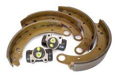 Cylindre de frein et patin de frein image libre de droits