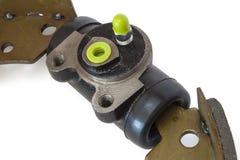 Cylindre de frein et patin de frein Image stock
