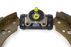 Cylindre de frein et patin de frein photographie stock libre de droits