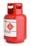 Cylindre de gaz Photographie stock libre de droits